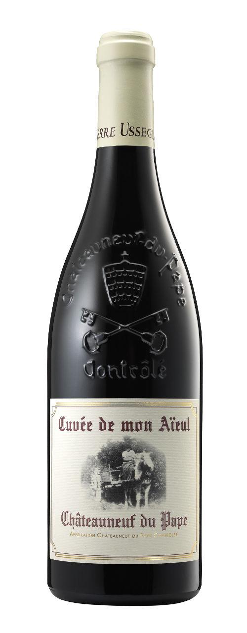 Châteauneuf-du-Pape rouge cuvée de mon aïeul